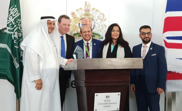 British Delegation on Hajj and Umrah at the British Consulate in Jeddah