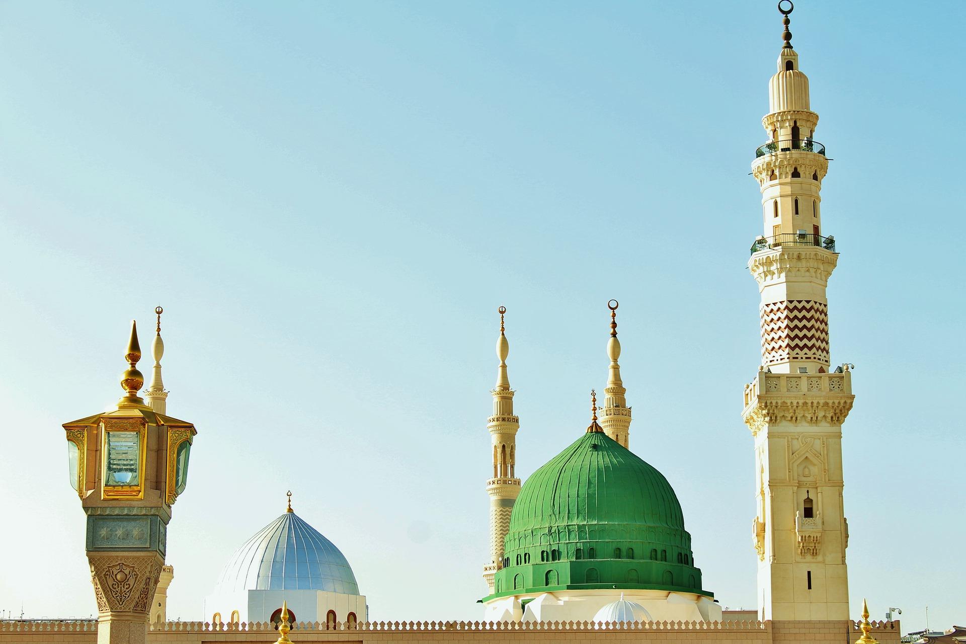 Masjid-Nabwi-Madina-Saudi-Arabia